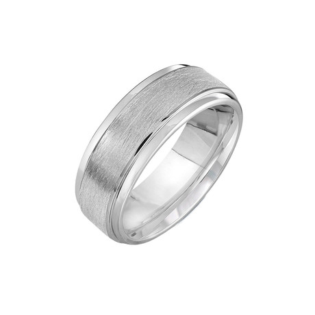 Cobalt Bevel Band (Size 7)