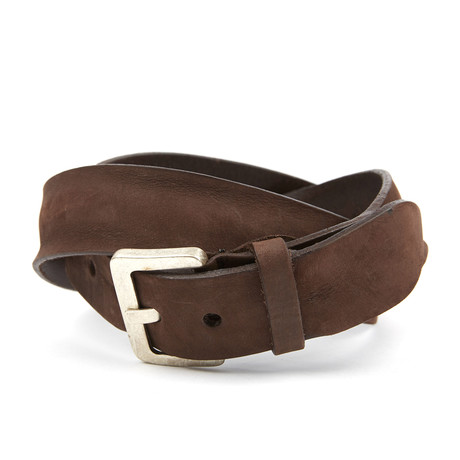 Ricardus Rustic Belt // Dark Brown
