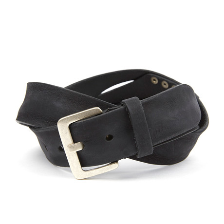 Ricardus Rustic Belt // Black