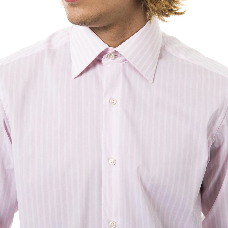 Flavio stretch dress shirt pink m uominitaliani for How to stretch a dress shirt