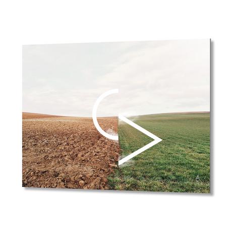 """10 Field // Aluminum Print (20""""W x 16""""H x .045""""D)"""