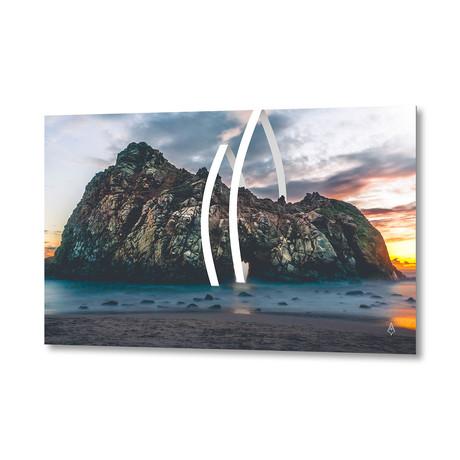 """09 Shore // Aluminum Print (24""""W x 16""""H x .045""""D)"""