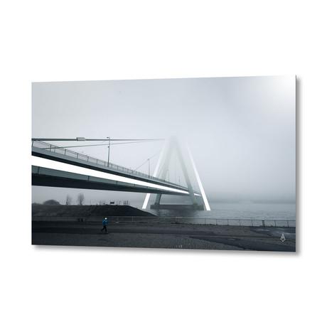 "08 Bridge // Aluminum Print (24""W x 16""H x .045""D)"