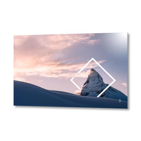 "07 Mountain // Aluminum Print (24""W x 16""H x .045""D)"