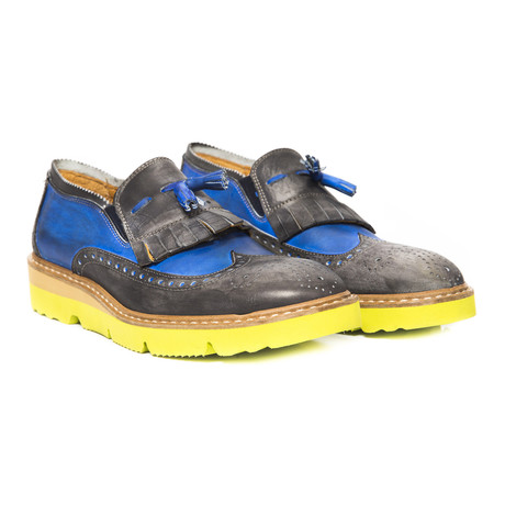 Shaun Slip-On Tassel Loafer // Blue