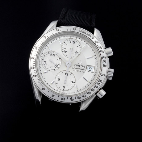 Omega Speedmaster Date Automatic // 35138 // TM089 // c.2000's // Pre-Owned