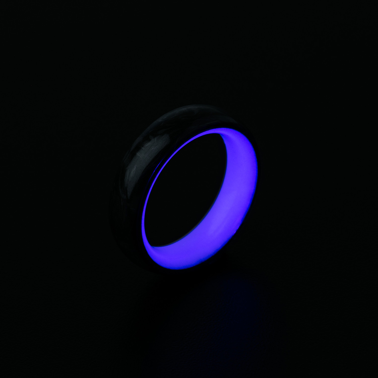carbon ring size touch lume large modern sales rings of blue