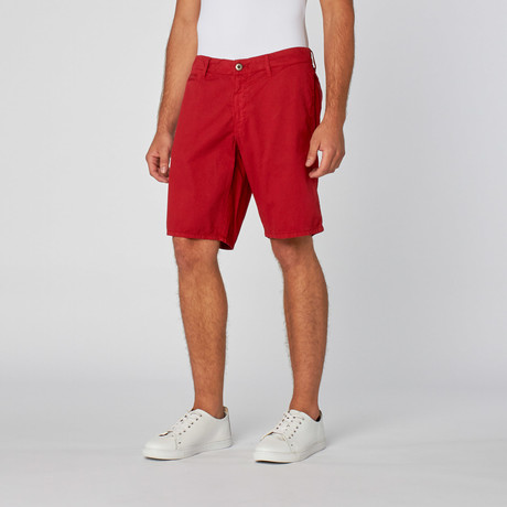 St. Barts Short // Red Polo