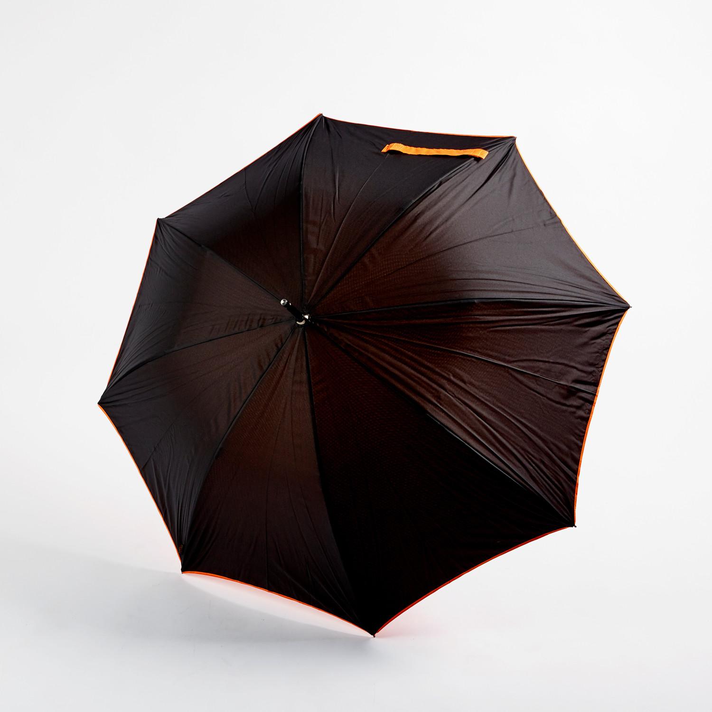 Smati by susino double canopy umbrella black red for Canopy umbrella