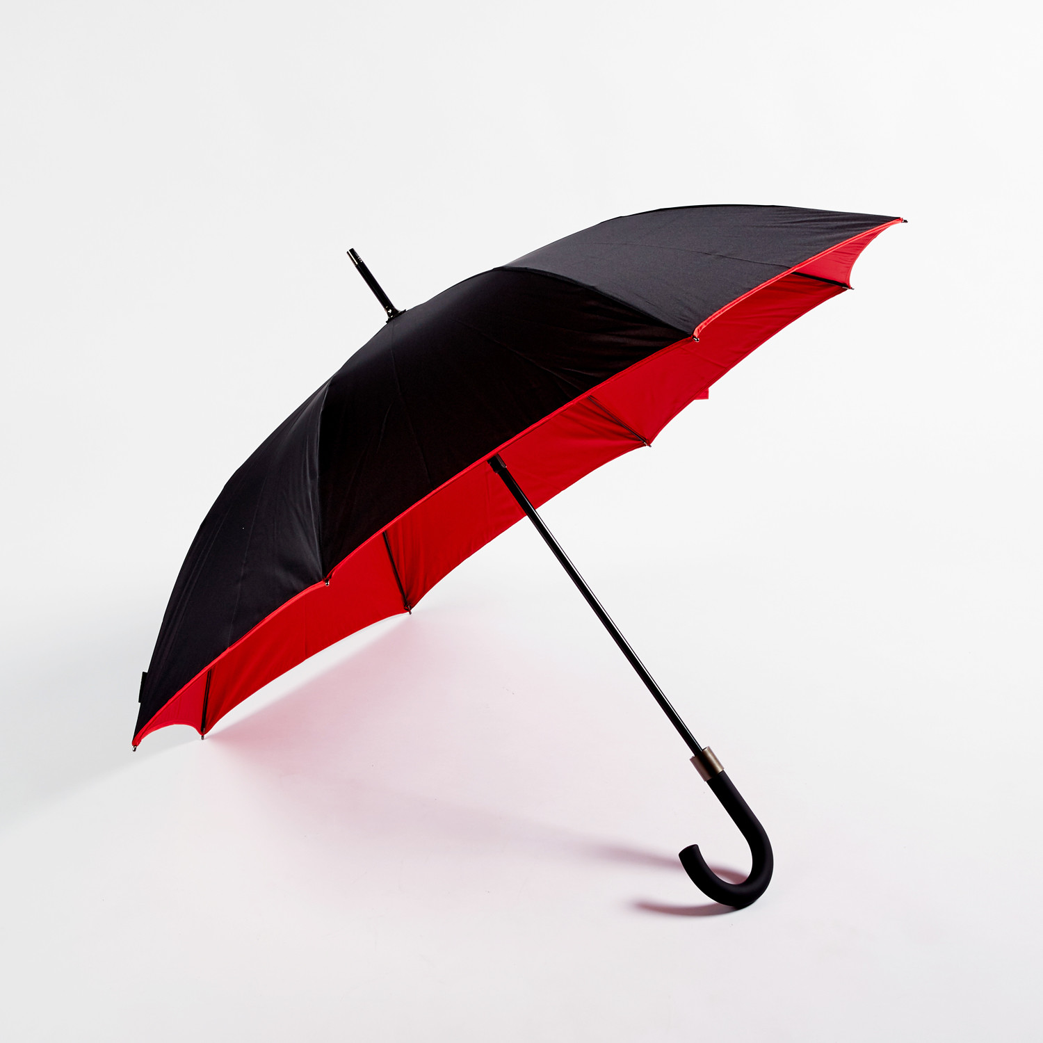 Smati by Susino // Double Canopy Umbrella (Black + Red) & Smati by Susino // Double Canopy Umbrella (Black + Red) - Le Monde ...