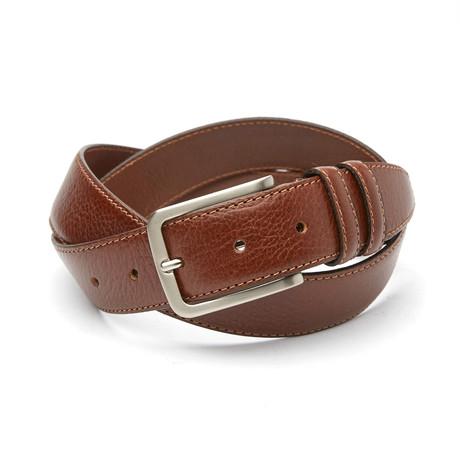 Riccardo Classic Belt // Cognac