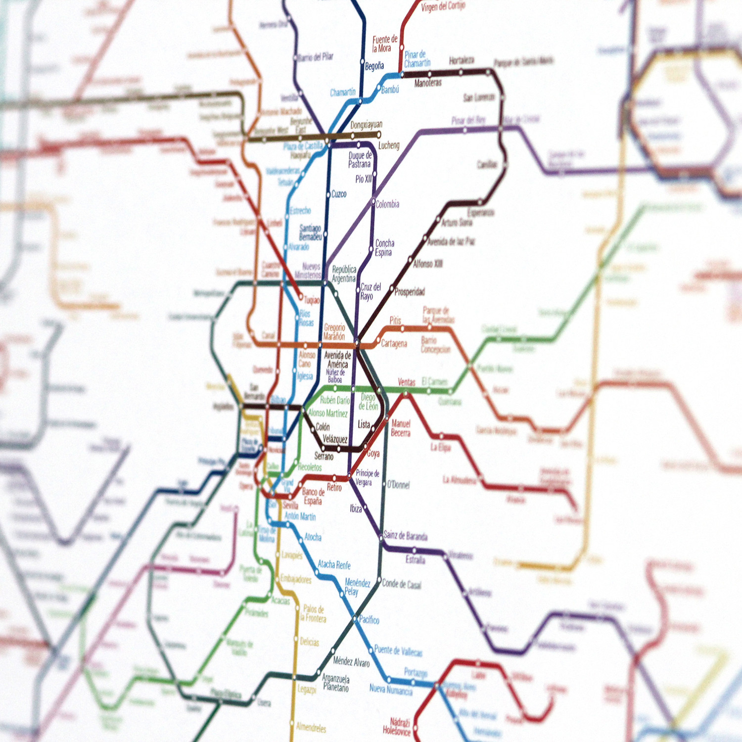 World Metro Map Small Art Code Data Touch Of Modern