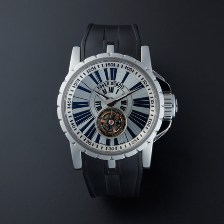 Roger Dubuis Excalibur Flying Tourbillion Manual Wind // Pre-Owned