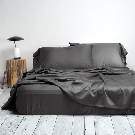 Sateen Sheet Set // Grey (Queen)