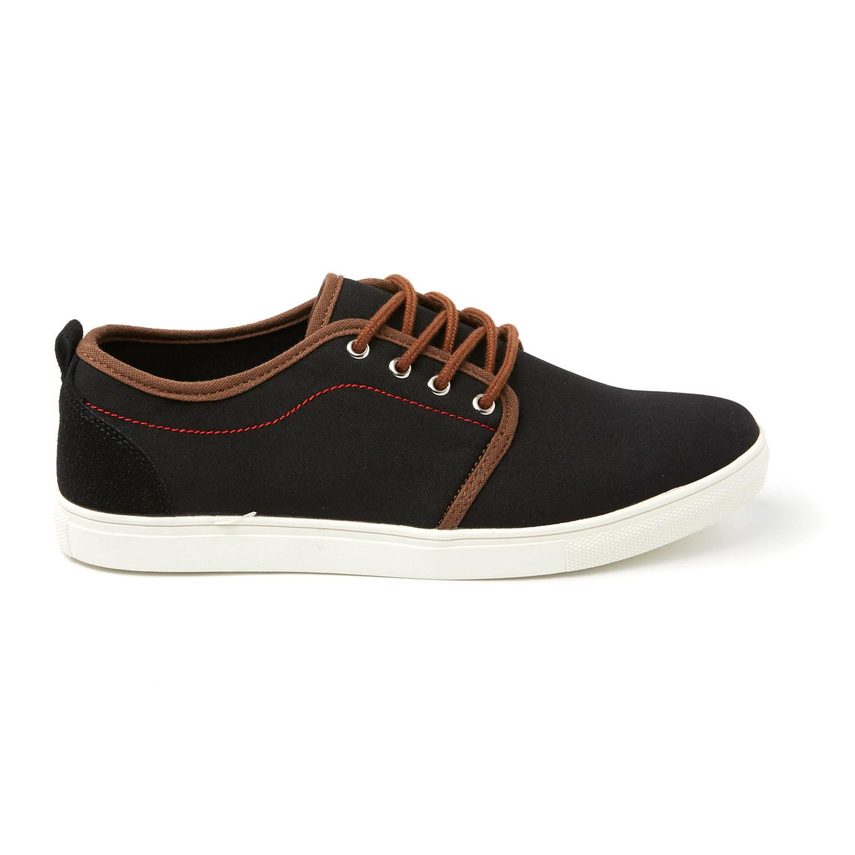Solo Shoes Howie Canvas Sneaker Black Us 7 5