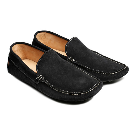 Plain Mocassin // Navy