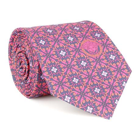 Alexander Silk Tie // Pink