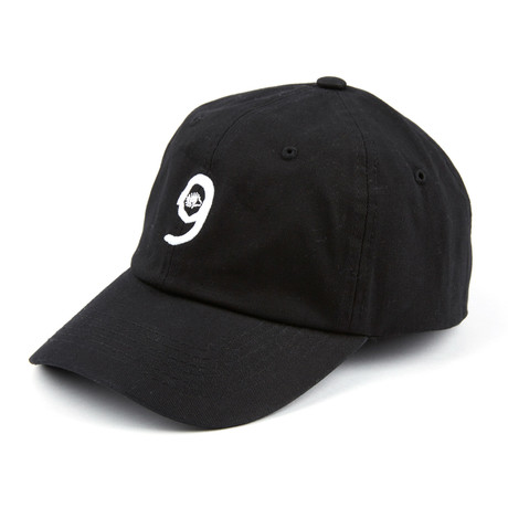 Six God Dad Cap // Black