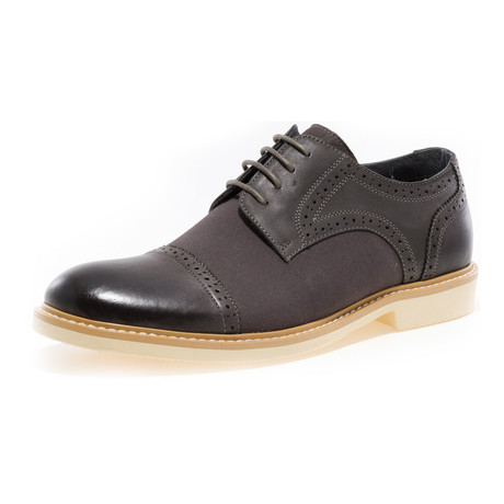 Boston Cap-Toe Brogue Derby // Grey (US: 8)