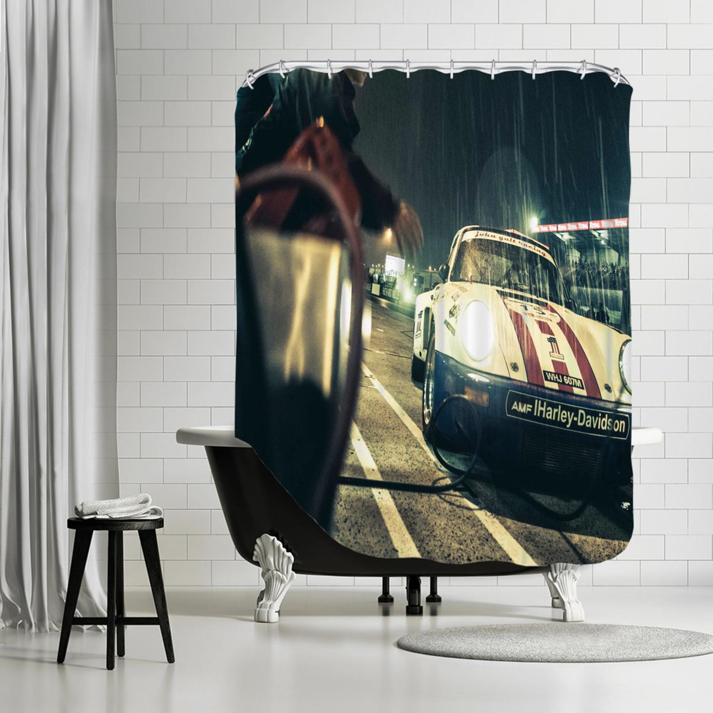 Harley Davidson Shower Curtain Jayson Fong Touch Of Modern