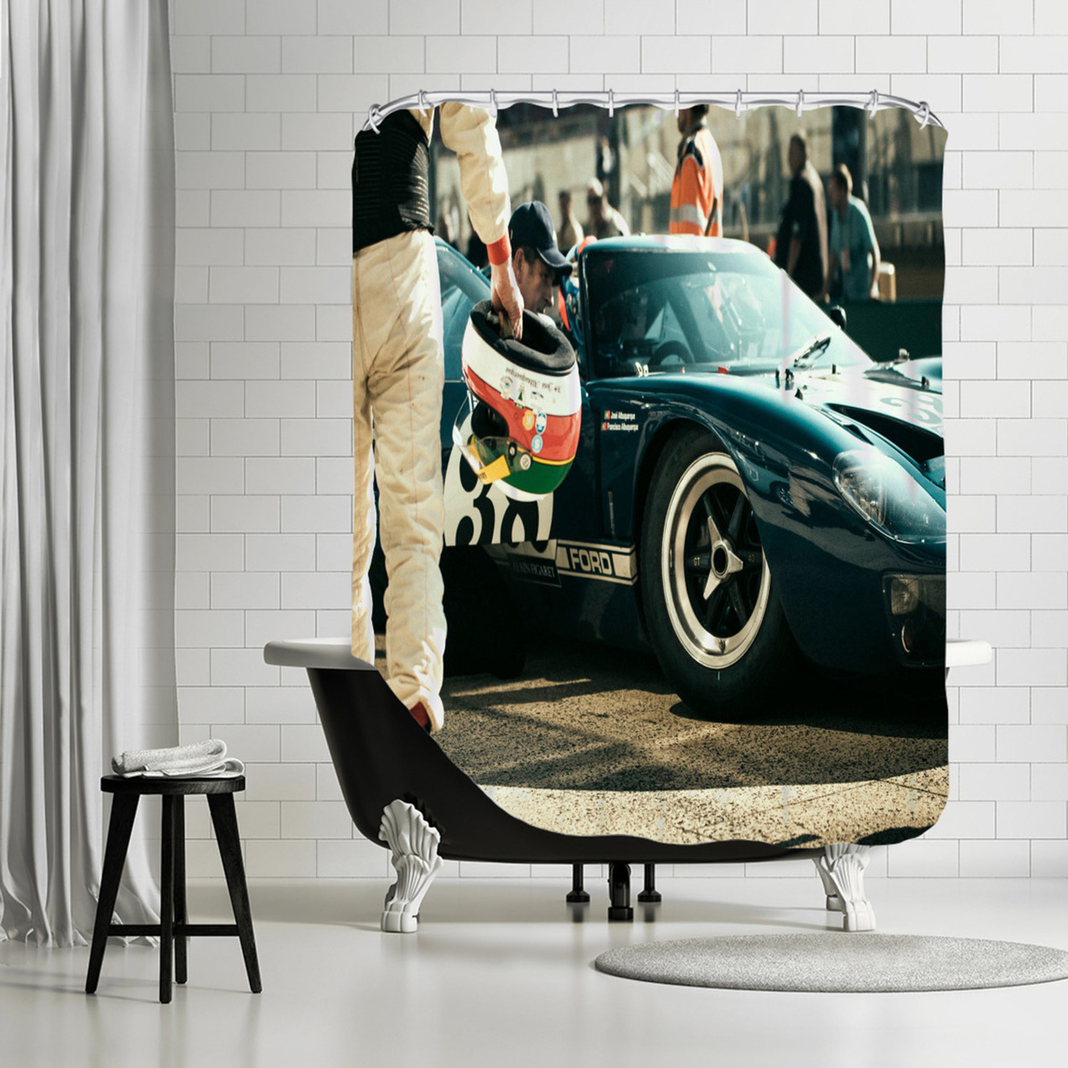 Ford 38 Shower Curtain