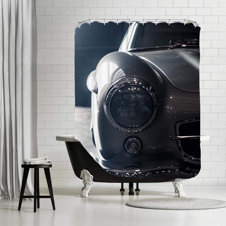 3cf6835602671584736ab6f3e8019ea3 Medium Car 324 Shower Curtain
