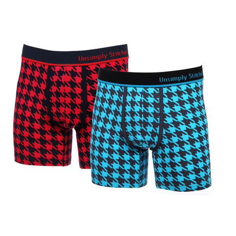 Boxer Brief // Herringbone // 2-Pack