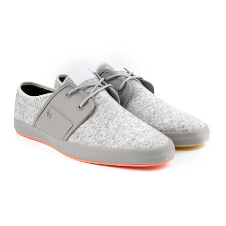 Spam 2 canvas sneaker light grey euro 40 fish 39 n for Fish n chips shoes