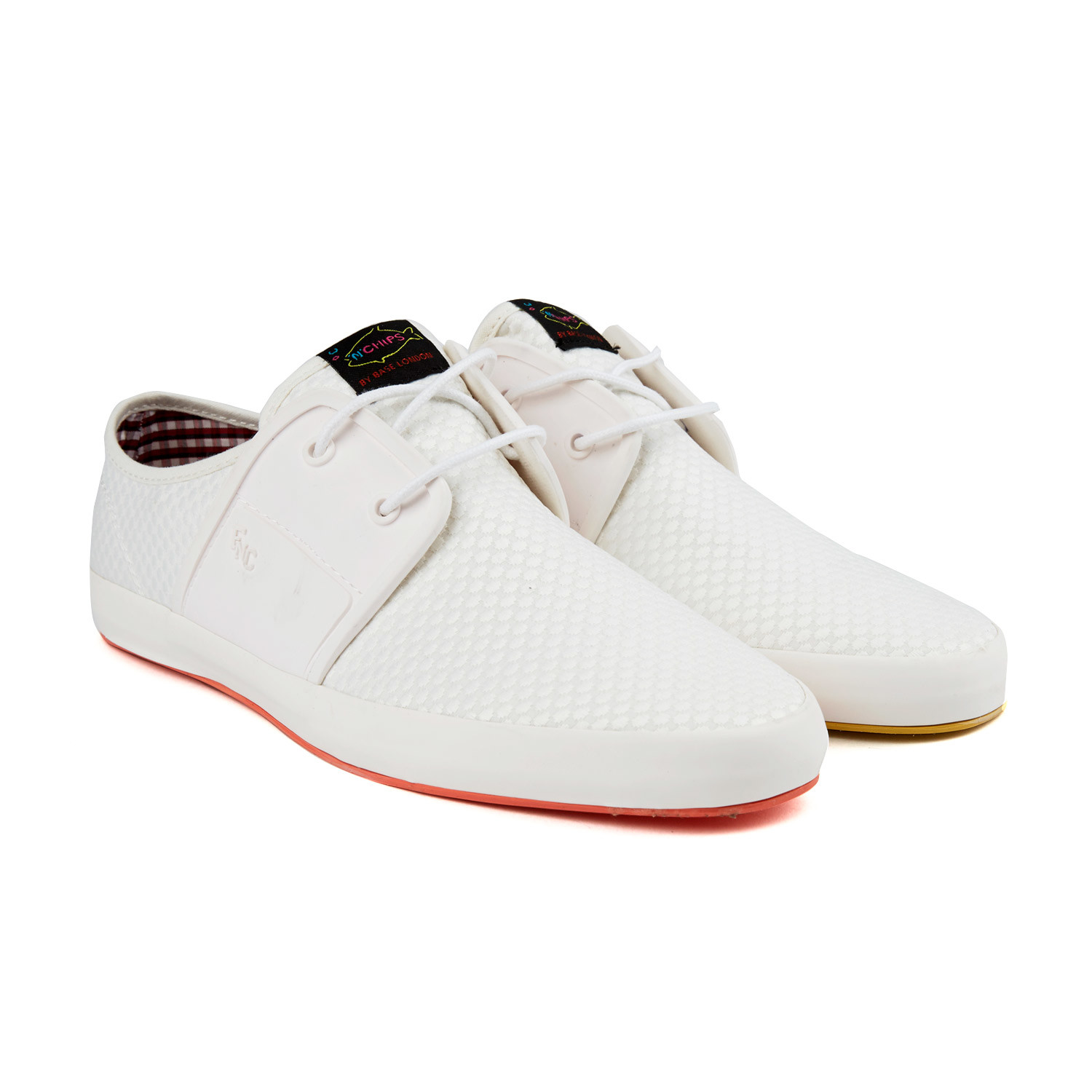 Spam 2 sneaker white euro 40 fish 39 n 39 chips for Fish n chips shoes