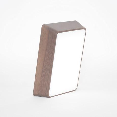 Brick Lamp // Walnut Wood
