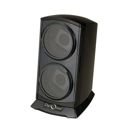Carbon Fiber Finish Double Watch Winder
