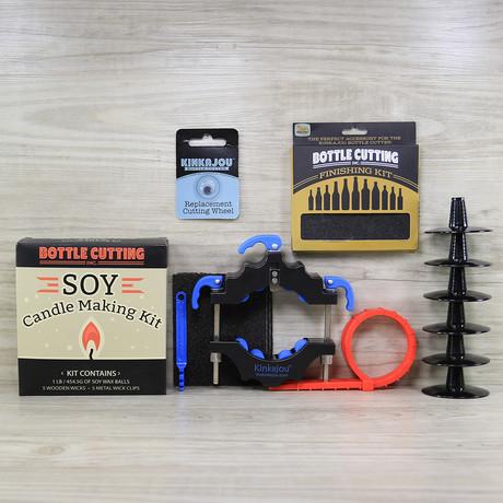 Bottle Cutter Bundle // Candle Making Kit
