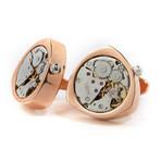 Bond Watch Cufflinks // Copper