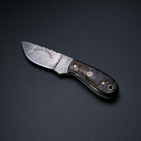 The Texan Knives Knife (Ram's Horn)