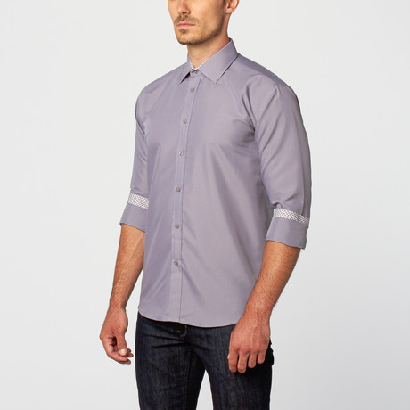Malcolm Dress Shirt // Grey