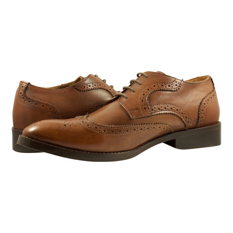 Daniels Brogue Derby // Tan