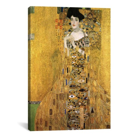Portrait Of Adele Bloch-Bauer I // Gustav Klimt // 1907