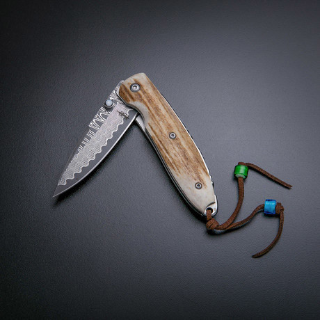 Linerlock Folding Knife // Stag