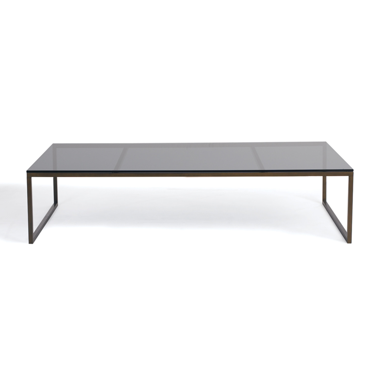 Smoked Glass Coffee Table Calvin Klein Home Touch Of Modern - Calvin coffee table