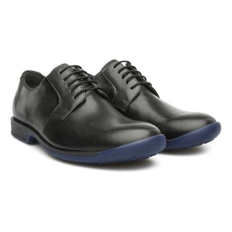 Bowie Dress Shoe // Black + Blue