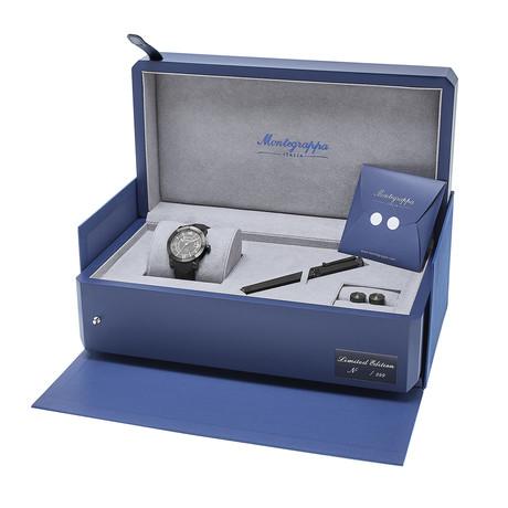 Montegrappa Nero Uno Automatic // Limited Edition Box Set // IDNLWSBK // New