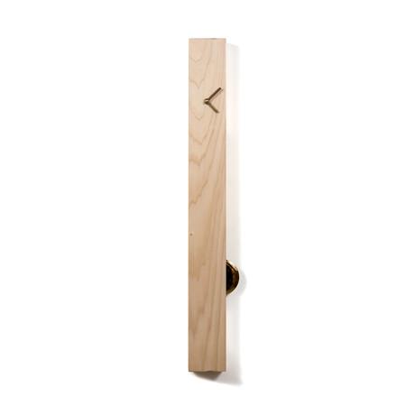 Poplar Pendulum Clock (Vertical)