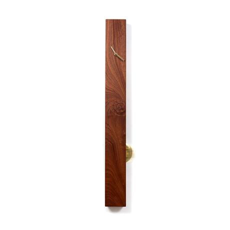 Mahogany Pendulum Clock (Vertical)