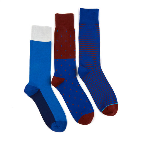 Glowing Ivy Switch Sock // Assorted Set of 3