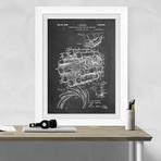 Jet Engine (Chalkboard)