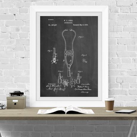 Stethoscope (Chalkboard)