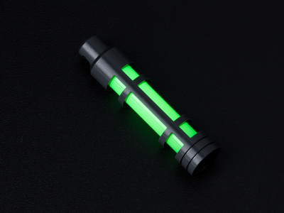 Photo of Everyday Carry Prepared For Adventure Glow Fob // AluminumEmbrite // Clear Anodize // Green Glow by Touch Of Modern