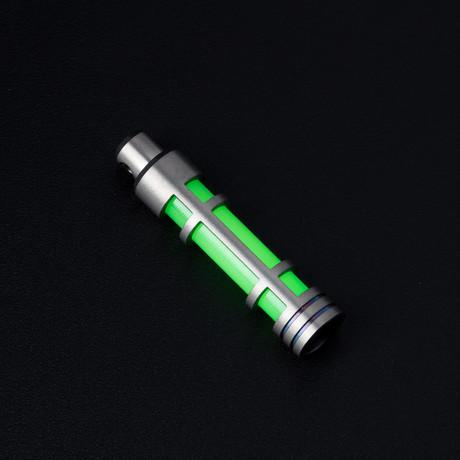 Glow Fob // TitaniumEmbrite // Green Glow
