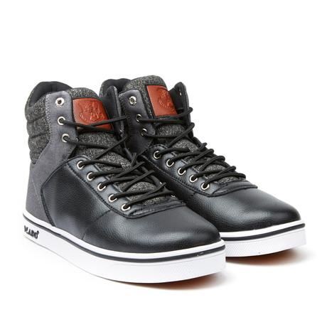 Milo 2 High-Top Sneaker // Black + Grey (US: 7)