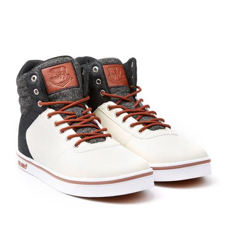 Milo 2 High-Top Sneaker // Cream + Black (US: 7)